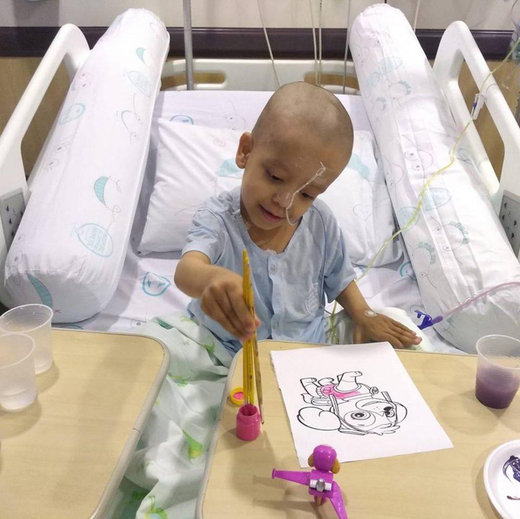 Foto3 Keve dos Santos Dias Brasileirinho trava luta contra leucemia rara