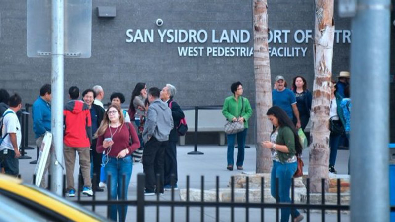 Foto31 Posto de Entrada em San Ysidro Juiz federal barra Trump de recusar asilo a imigrantes