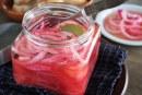 Pickle de cebola roxa