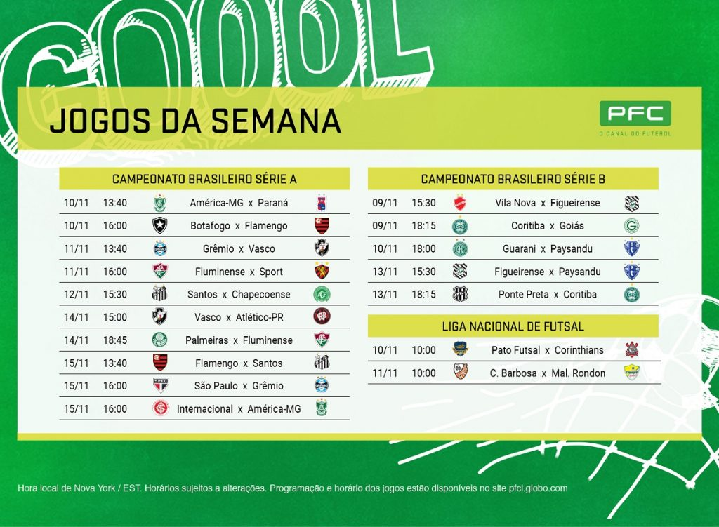 Print 07nov Reta final do Brasileirão no PFC!