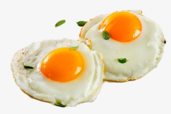 No frigir dos ovos