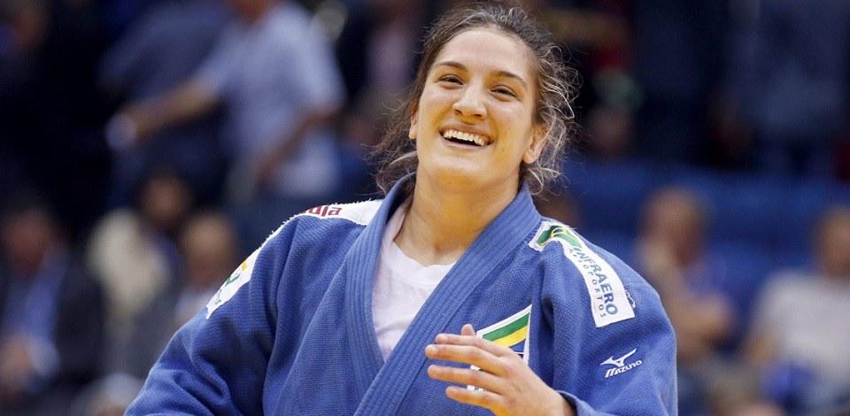 Foto10 Mayra Aguiar Ranking mundial de judô tem 2 líderes brasileiras