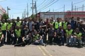 Motociclistas brasileiros realizam campanha de agasalhos em Newark