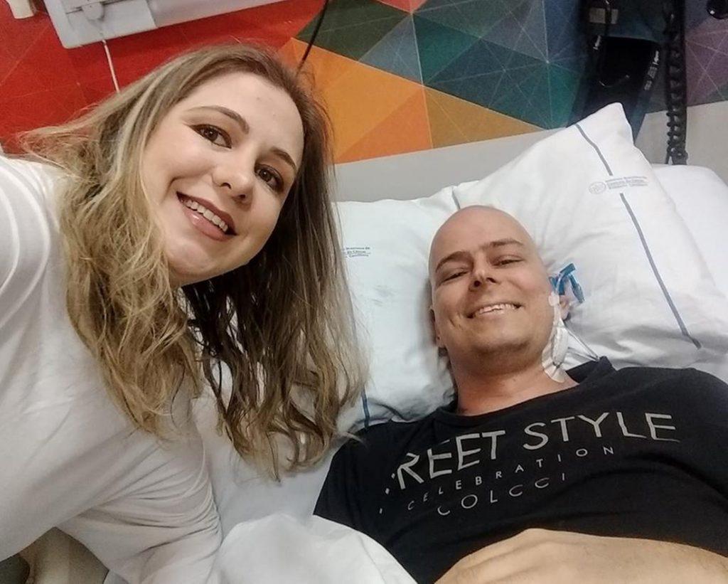 Foto17 Marina e Thiago Escames Marini Wilfer Brasileiro consegue doador compatível de medula óssea