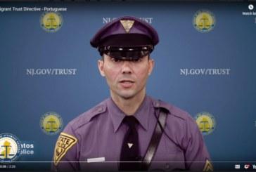 Polícia de NJ faz campanha de diretriz que limita ajuda ao ICE