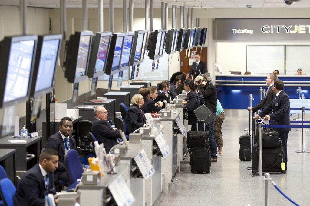 """Foto22 Terminal TSA Aeroporto na Geórgia instala primeiro terminal 100% """"biométrico"""""""