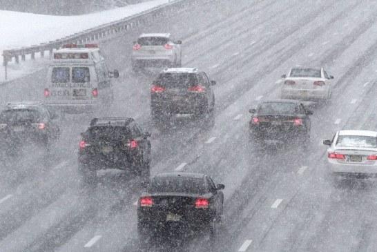 Tempestade de neve cai no sul de New Jersey
