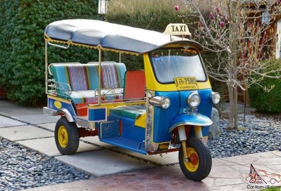 Os Tuk-Tuks de Havana
