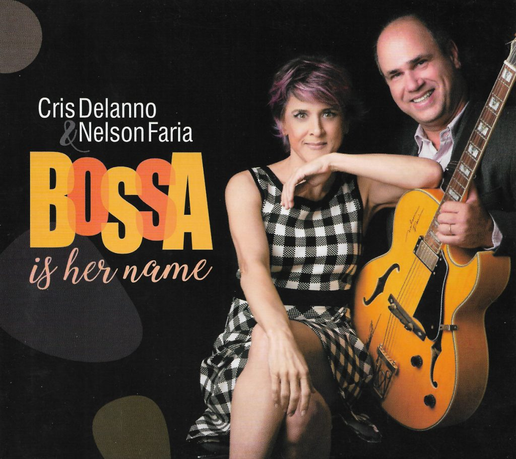 Capa CD Cris Delano e Nelson Faria O brilho do passado no futuro