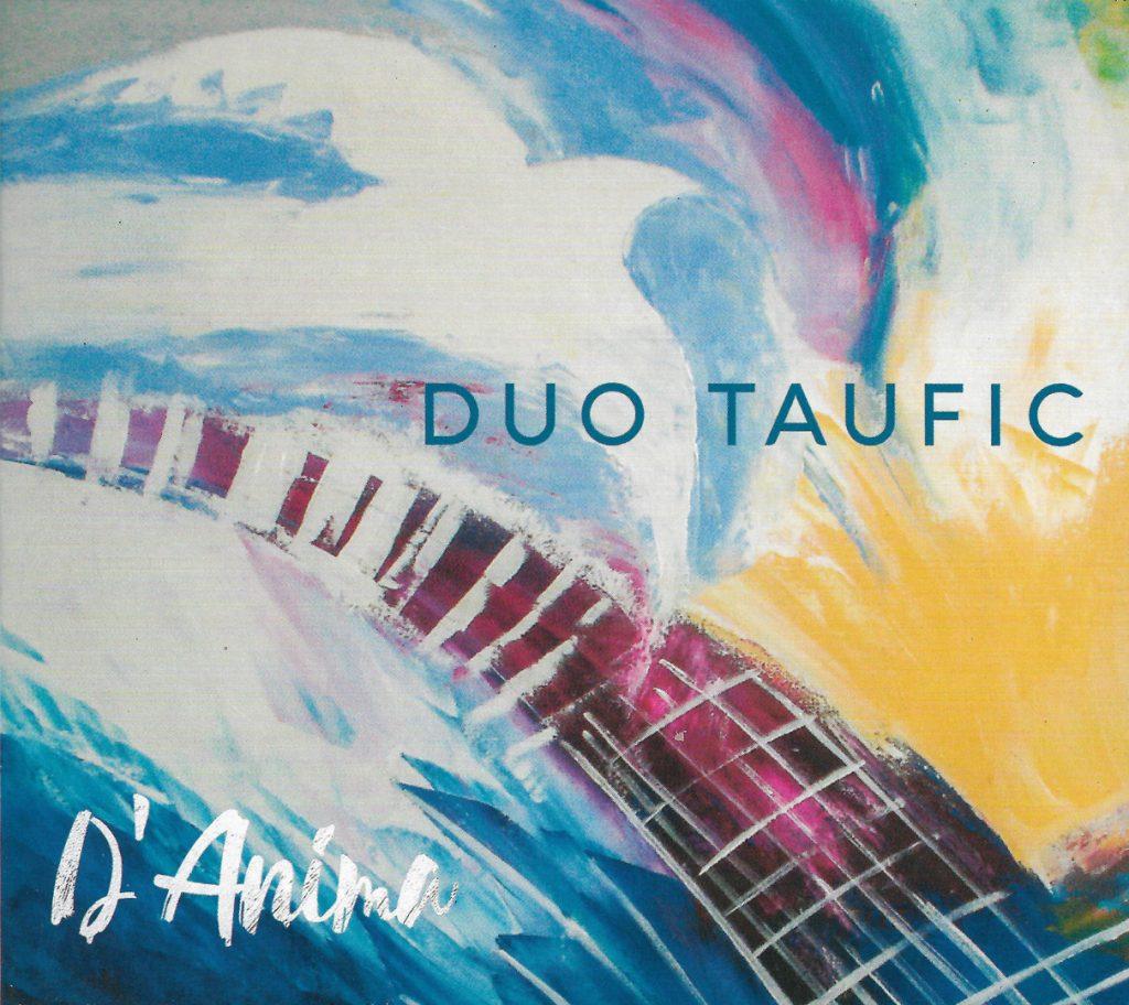 Capa CD Duo Taufic DAnima Brincando de ser esfuziantes