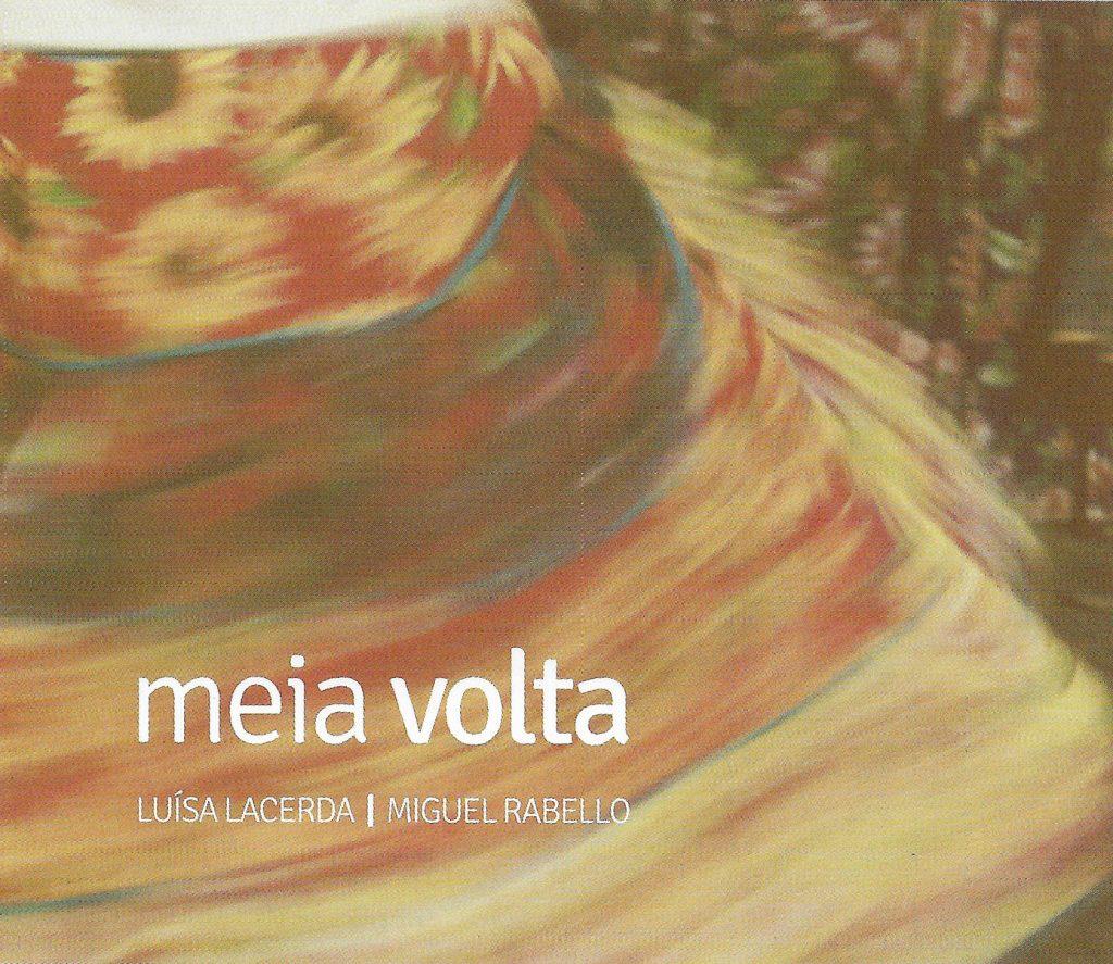 Capa CD Luisa Lacerda e Miguel Rabello Boa música em família