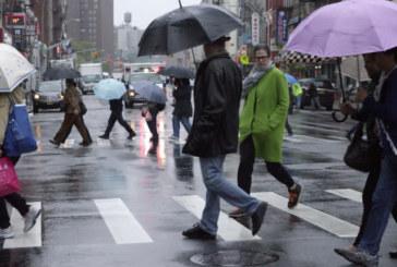 Frente fria deixa NJ antes da chegada da chuva na quinta-feira (24)