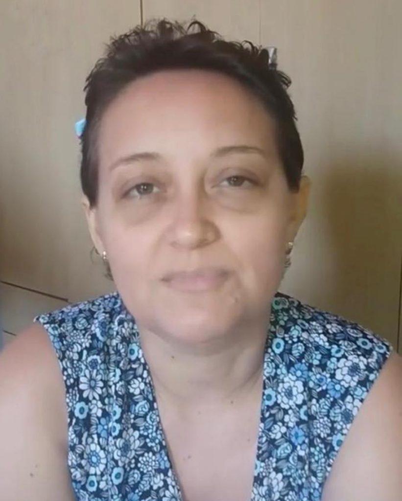 Foto11 Simone Siqueira Maia  Brasileira perde a luta contra a leucemia