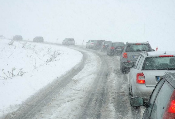 DOT alerta motoristas antes de tempestades de neve em NJ