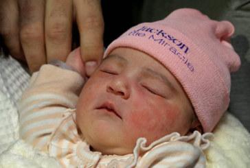 1º bebê a nascer em Miami em 2019 é filha de brasileiro