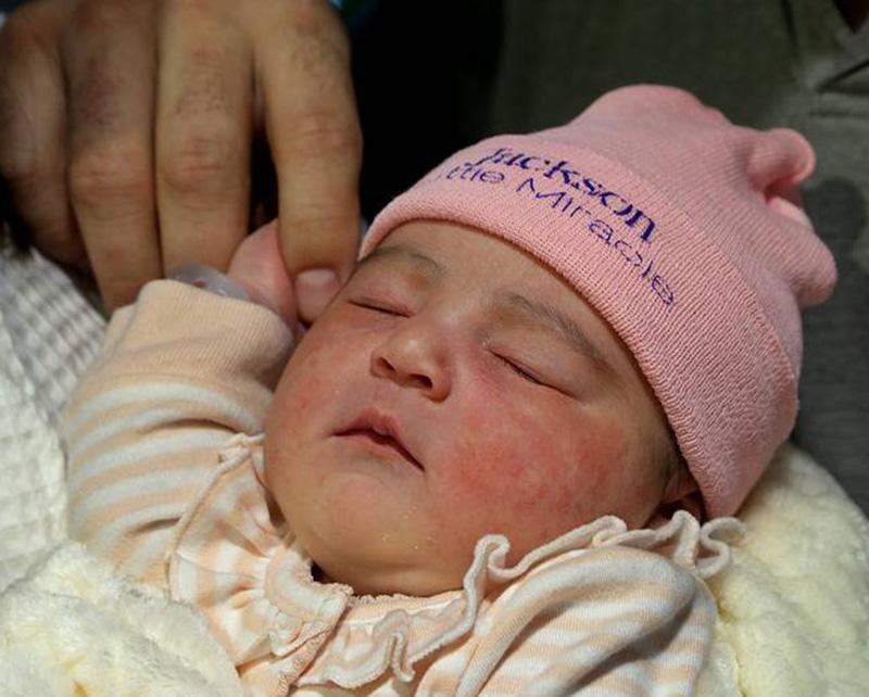 Foto22 Aryah Parreiras 1º bebê a nascer em Miami em 2019 é filha de brasileiro