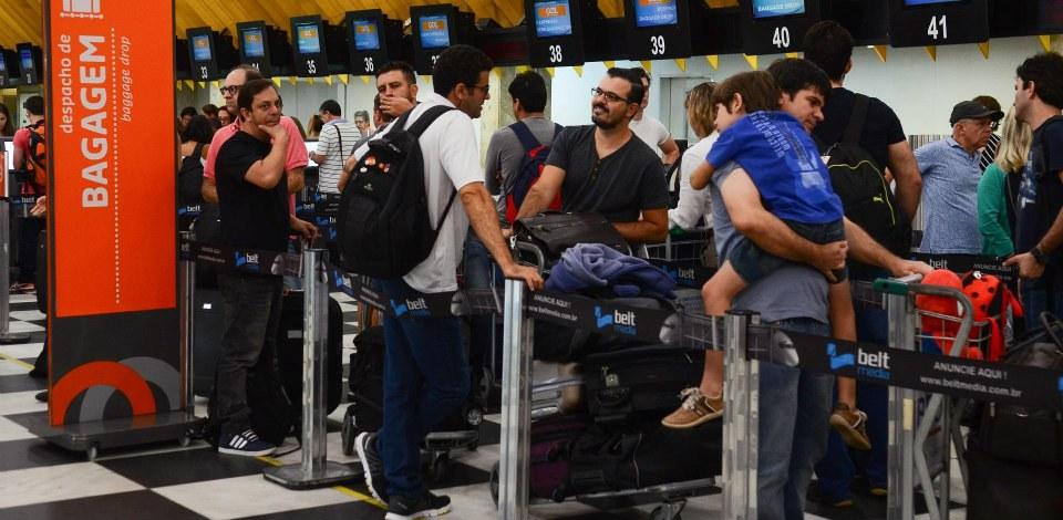 """Foto4 Aeroporto Site """"Passageiro Digital"""" esclarece dúvidas de viajantes ao Brasil"""