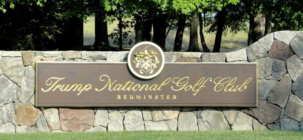 Foto6 Campo de golfe em Bedminster Indocumentada em campo de golfe Trump intencionalmente tirado da lista do Serviço Secreto