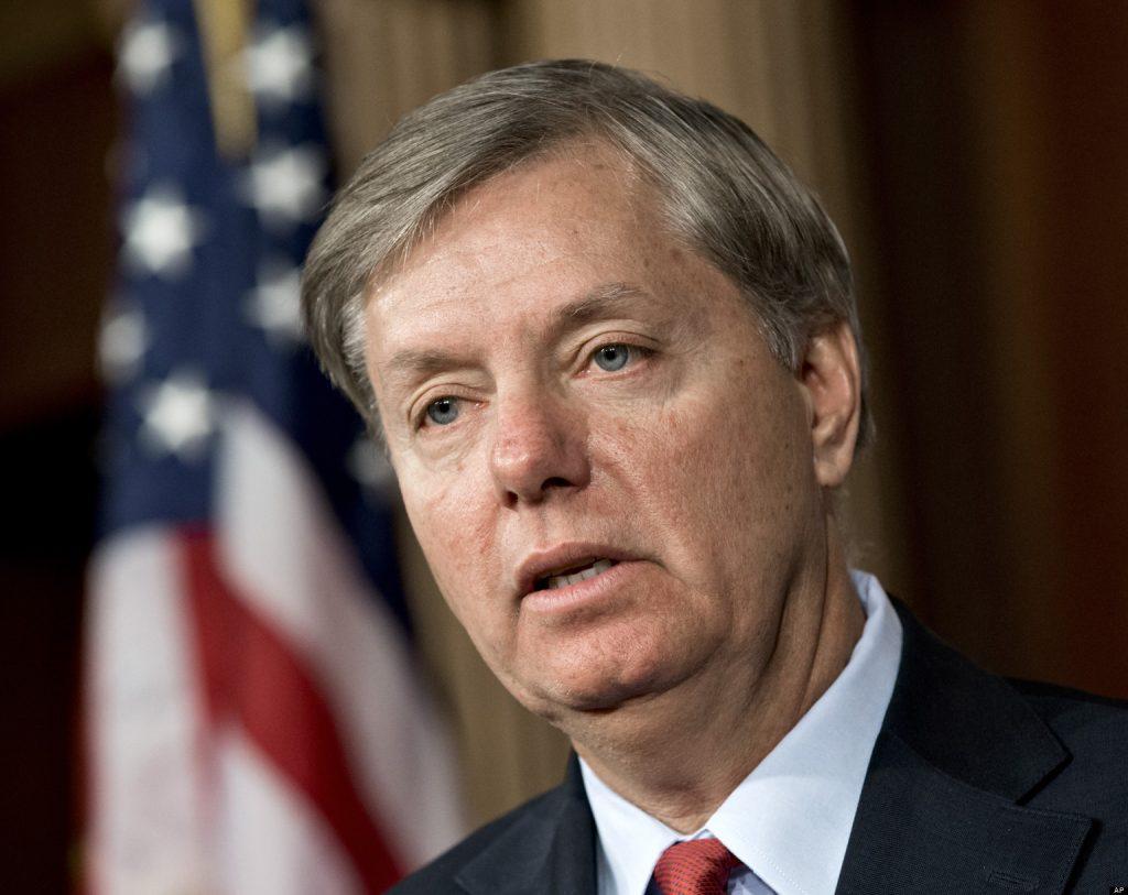 Foto7 Lindsey Graham Republicanos tentam acordo migratório para suspender paralização do governo