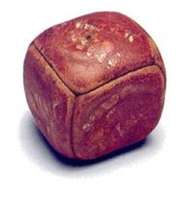 bola quadrada Teste de futebol para as mulheres