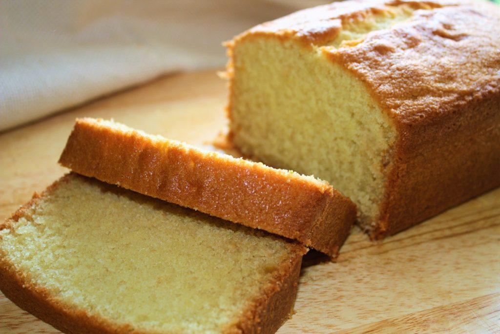 Bolo ingles Pound Cake 002 Bolo inglês com limão e laranja