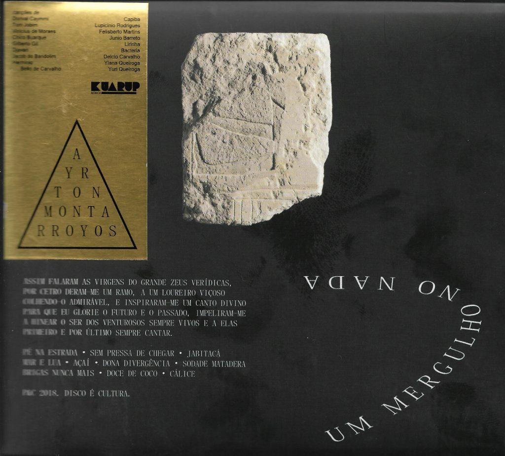 Capa CD Ayrton Montarroyos O grande Ayrton Montarroyos