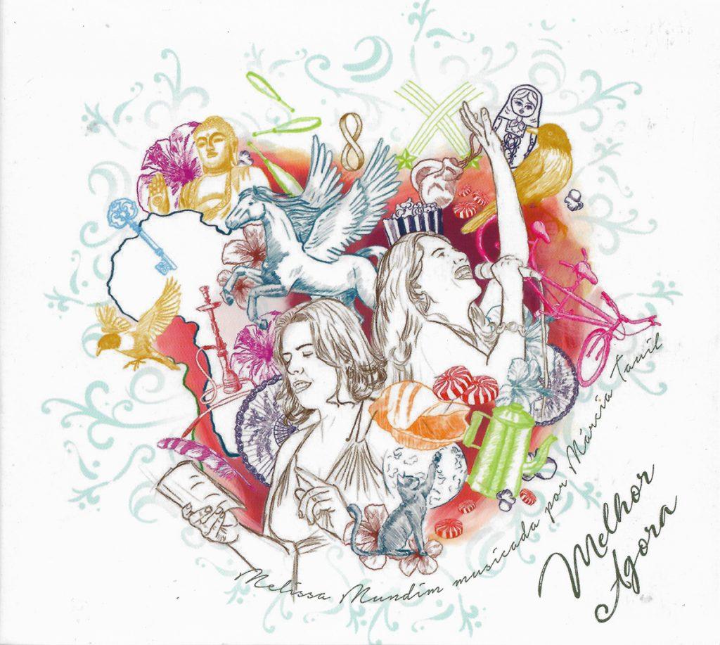 Capa CD Marcia Tauil e Melissa Mundim Um CD emocionante