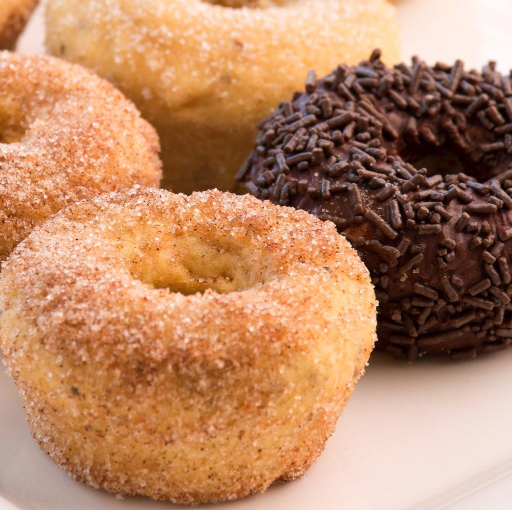 Doughnuts com farinha de chia Doughnuts com farinha de chia