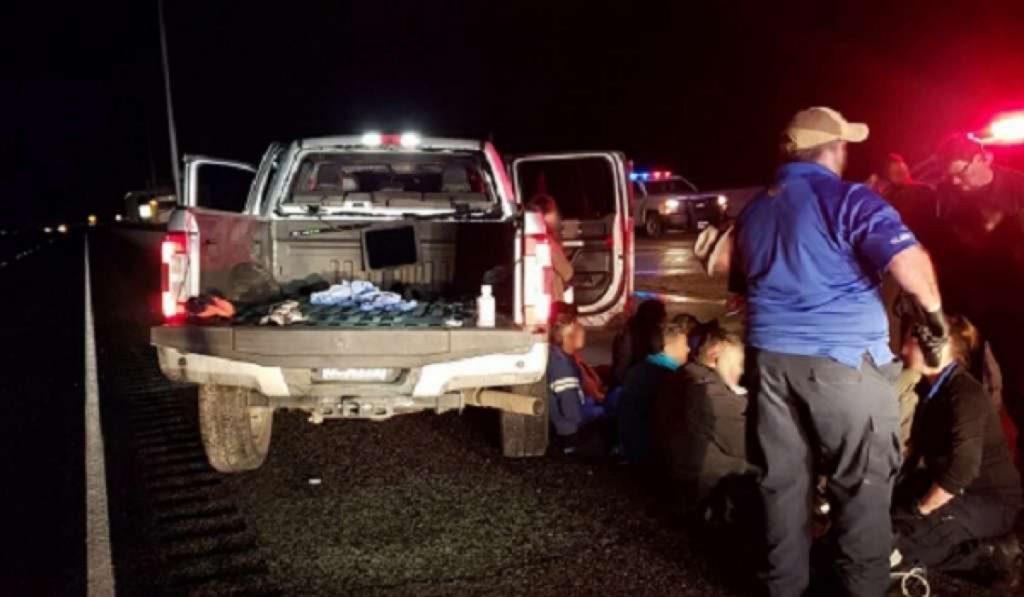 Foto1 Brasileiros detidos em Laredo TX Três brasileiros são presos durante perseguição policial no TX