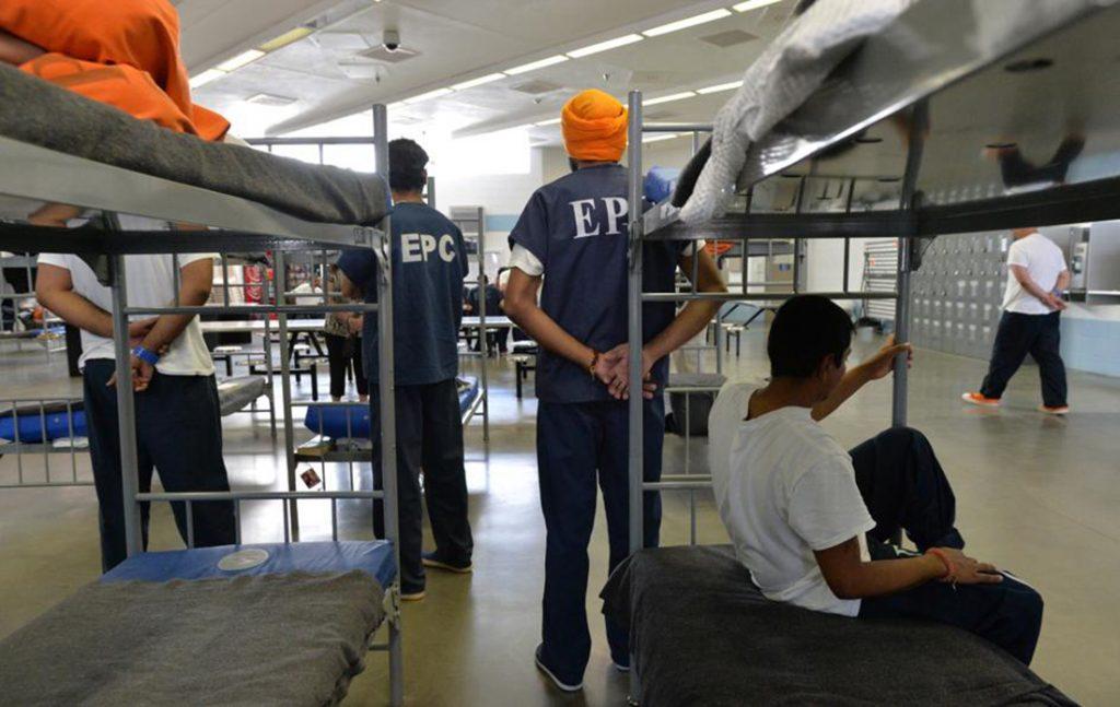 Foto11 Imigrantes detidos em El Paso ICE alimenta à força imigrantes em greve de fome no TX