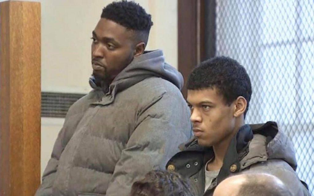 Foto16 Angelo Guimaraes e Rashad Odom  Brasileiro é preso com rifle AK 47 roubado em Everett (MA)