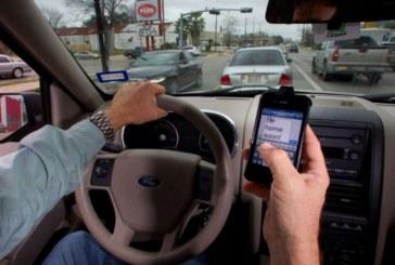 """NJ: Combate a """"motoristas distraídos"""" começa na segunda (1)"""
