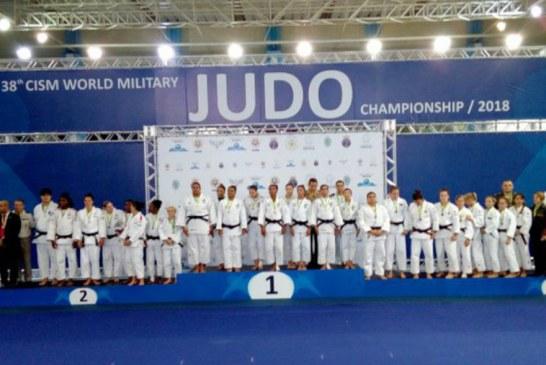 Brasileiros vencem 38º Campeonato Mundial Militar de Judô