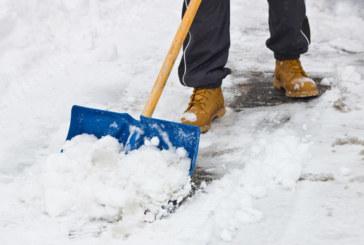 Março é líder no acúmulo de neve em NJ