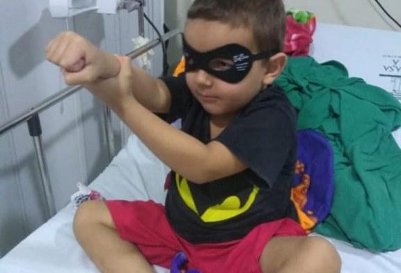 Brasileirinho luta contra síndrome rara