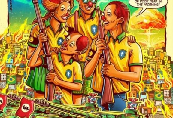 "Banda de punk ""mira"" na política armamentista de Bolsonaro"