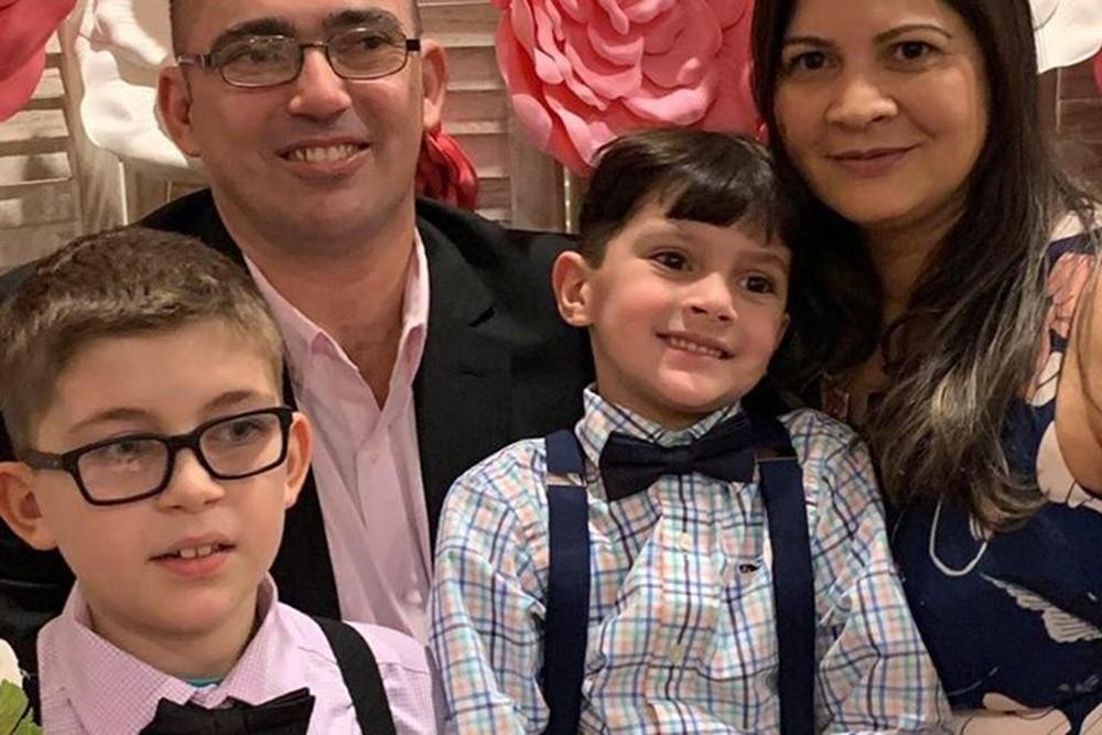 Foto8 Marcos Medeiros Regailany e filhos Brasileiro morre em acidente de carro em Massachusetts