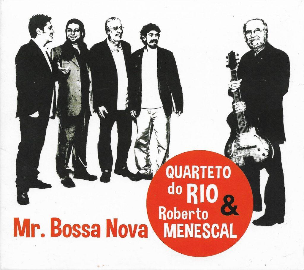 Capa CD Quarteto do Rio Roberto Menescal 003 O rei morreu! Viva o rei!
