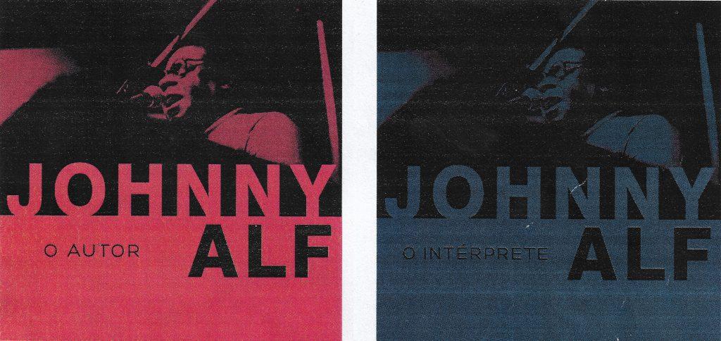 Capa CDs Johnny Alf ao vivo Revivendo Johnny Alf