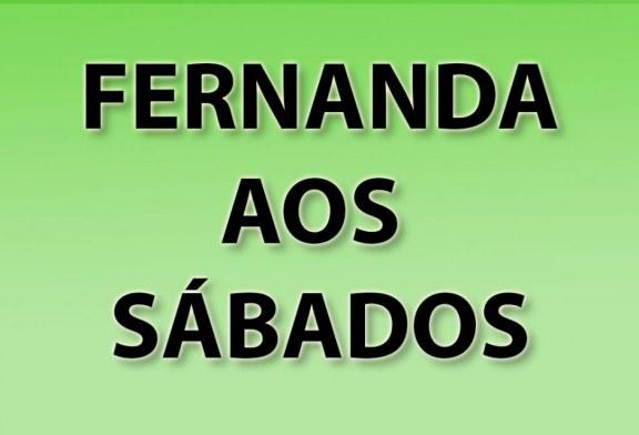 FERNANDA AOS SÁBADOS