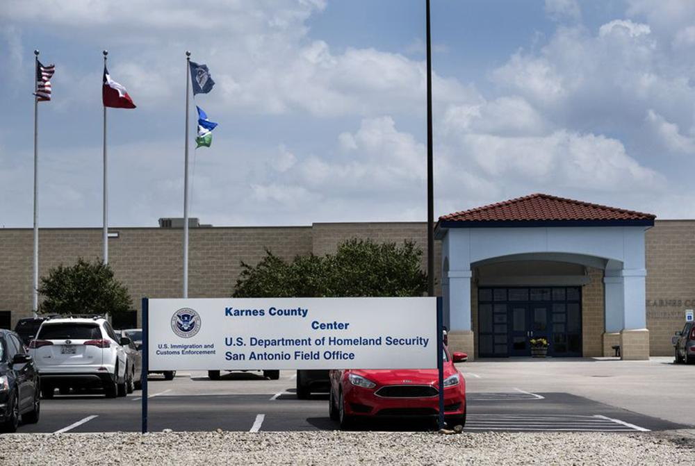 Foto11 Centro de detencoes Karnes Administração Trump impede acesso de imigrantes à ajuda legal grátis