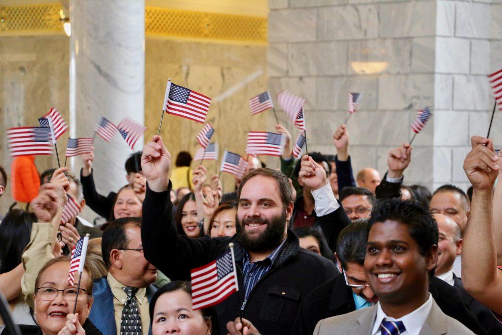 Foto18 Cerimonia de naturalizacao EUA: Cresce o índice de naturalizações no ano fiscal de 2018