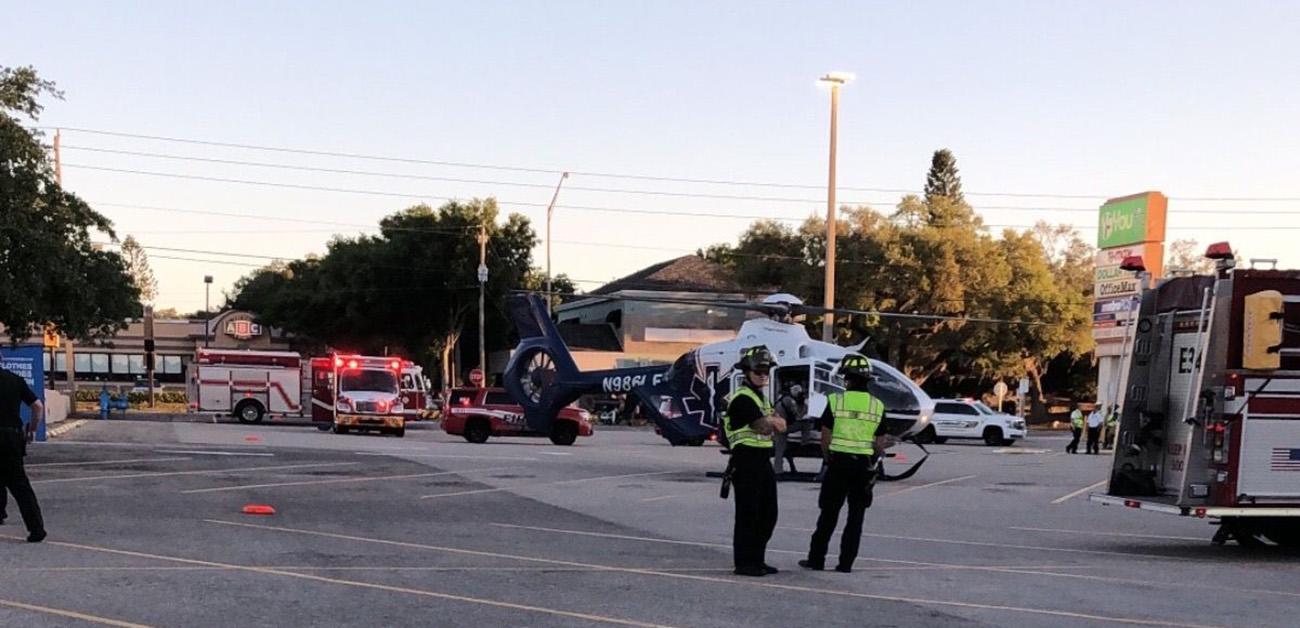 Foto2 Cena do atropelamento Brasileirinha entra em coma após ser atropelada na Flórida