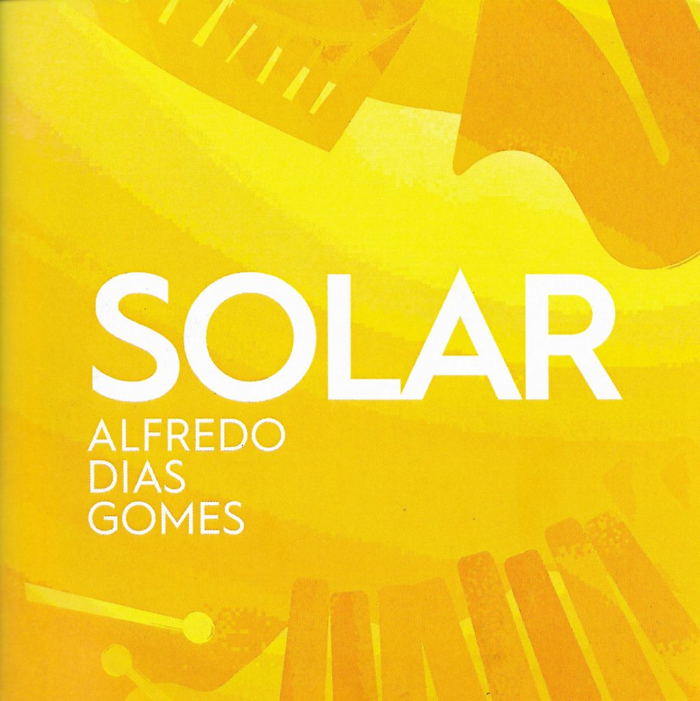 Capa CD Solar Alfredo Dias Gomes Simples Assim