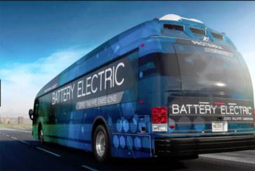 Ônibus elétricos começam a circular em NJ