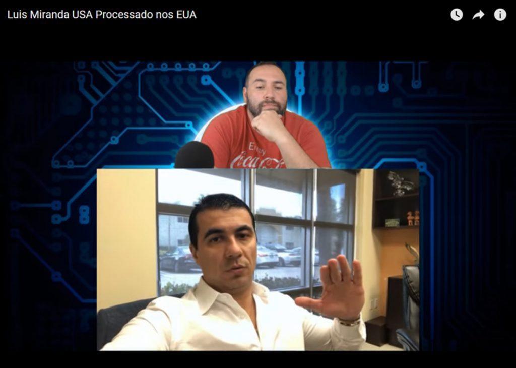 Foto22 Lauri Matos Filho e Luis Claudio F. Miranda Youtuber de MA acusa deputado Luís Miranda deter lesado investidores na Flórida