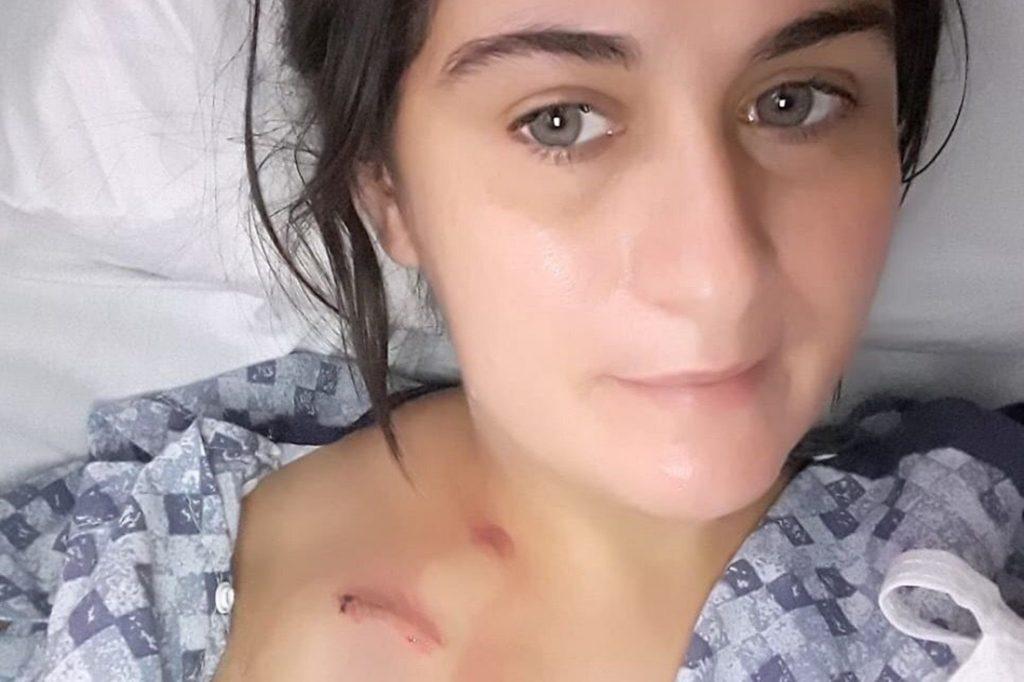 %name Brasileira luta contra câncer de mama no estágio 4