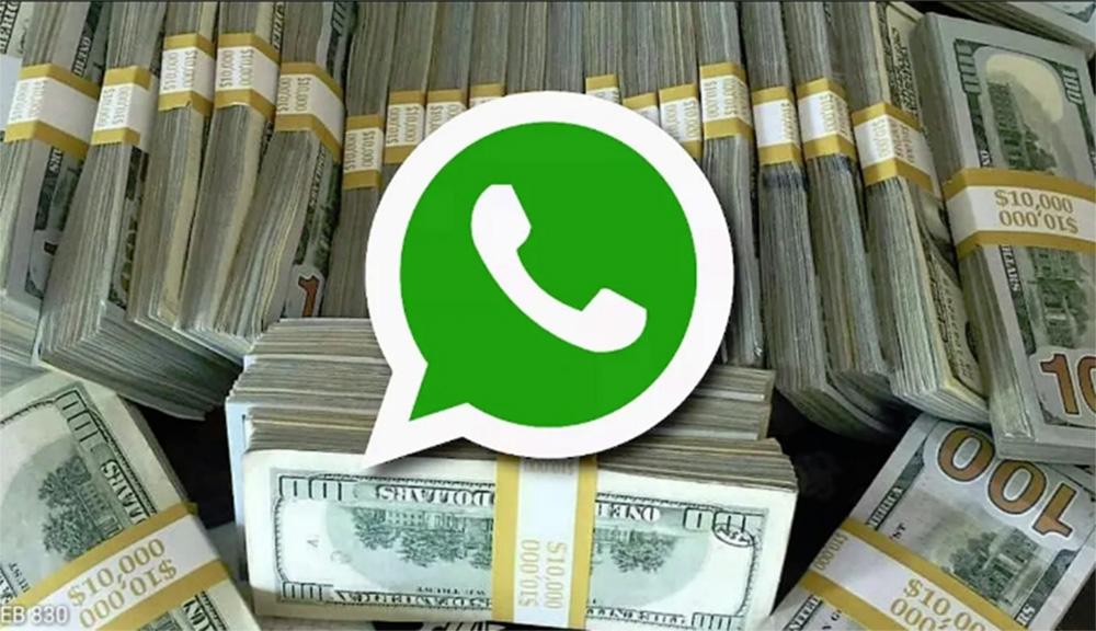 """Foto28 Notas de dolar  Consulado de Miami alerta para golpe do """"dólar barato"""" no WhatsApp"""