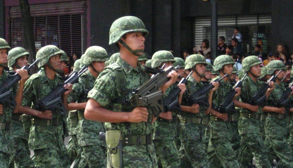 Foto34 Exercito mexicano México envia tropa de 15 mil homens para a fronteira dos EUA