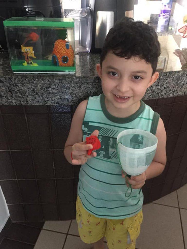 Foto6 Luiz Felipe Brasileirinho busca doador de medula óssea compatível